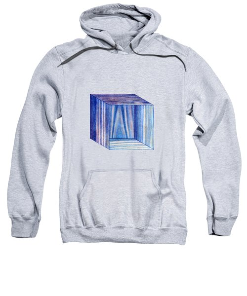 Blue Box Sitting Sweatshirt
