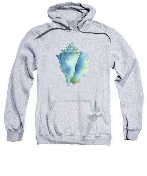 Blue Conch Shell Sweatshirt