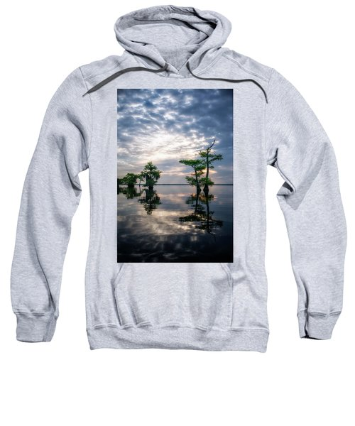 Blue Cypress Sunrise #1 Sweatshirt