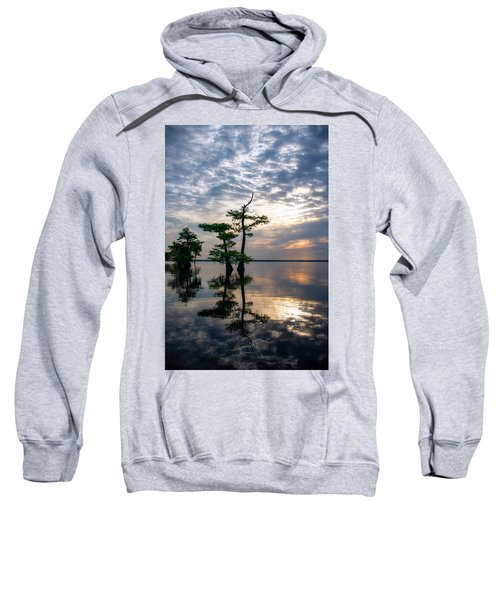 Blue Cypress Sunrise #2 Sweatshirt