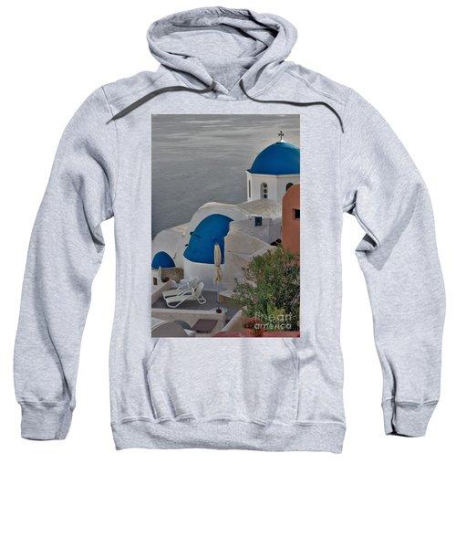 Blue Domes Sweatshirt