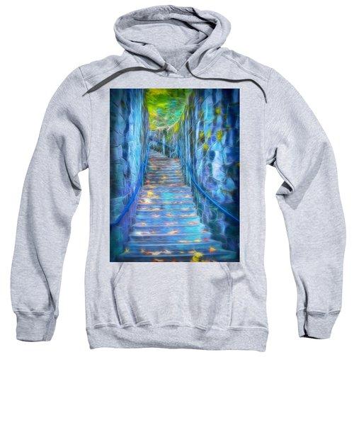 Blue Dream Stairway Sweatshirt