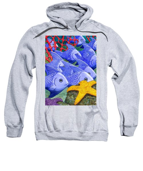 Blue Fish Sweatshirt