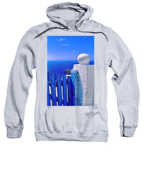 Blue Gate Sweatshirt by Silvia Ganora