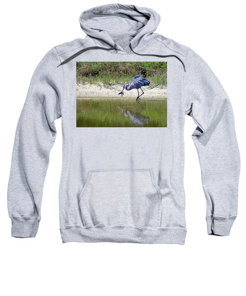 Blue Heron's Lucky Day Sweatshirt