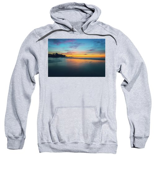 Blue Hour At Carmel, Ca Beach Sweatshirt