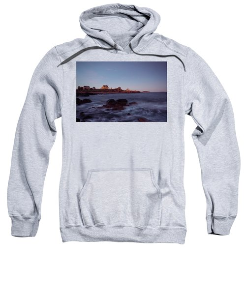 Blue Hour In Gloucester Sweatshirt