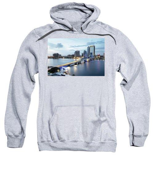 Blue Hour In Jacksonville Sweatshirt