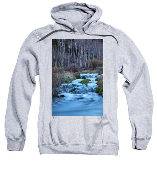 Blue Hour Streaming Sweatshirt by James BO Insogna