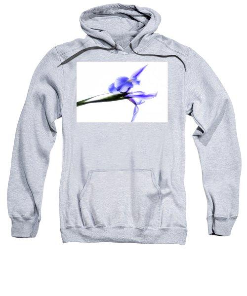 Blue Iris For Irma Sweatshirt