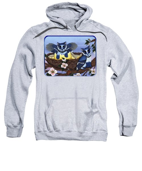 Blue Jay Kittens Sweatshirt