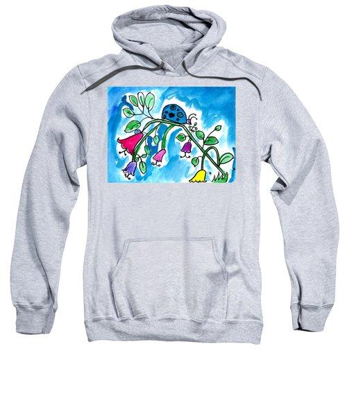 Blue Ladybug Sweatshirt