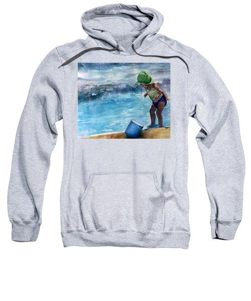 Blue Pail Sweatshirt