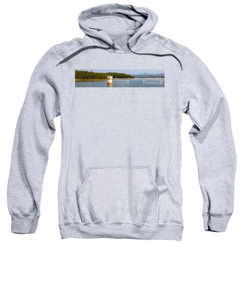 Blue Ridge Dam - Panoramic Sweatshirt