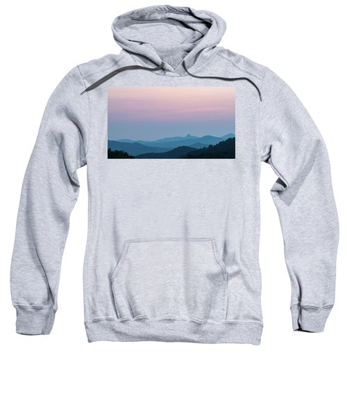Blue Ridge Mountains After Sunset Sweatshirt