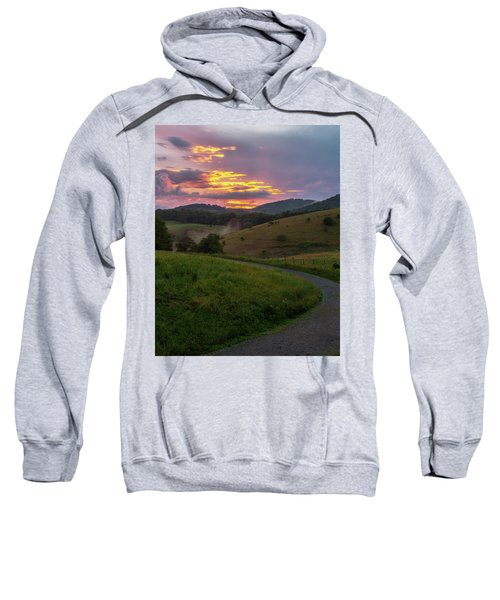 Blue Ridge Sunset Sweatshirt