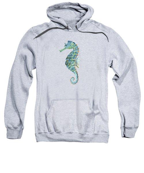 Blue Seahorse Sweatshirt