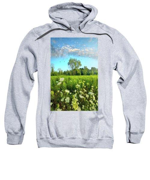 Blue Skies Smilin' At Me Sweatshirt