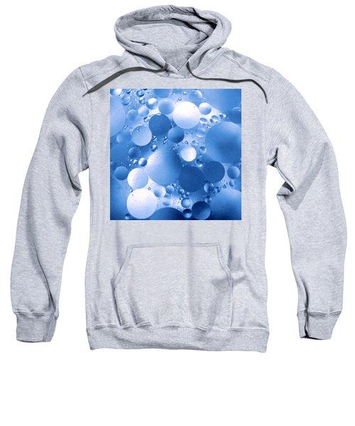 Blue Sphere Flow Sweatshirt