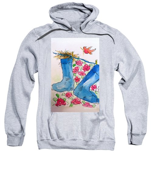 Blue Stockings Sweatshirt