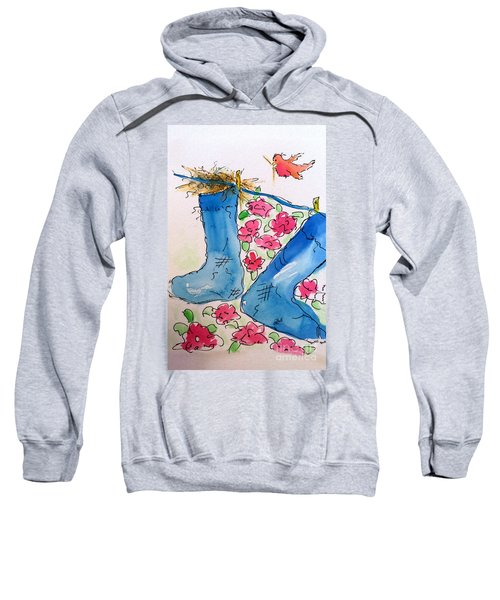 Blue Stockings Sweatshirt