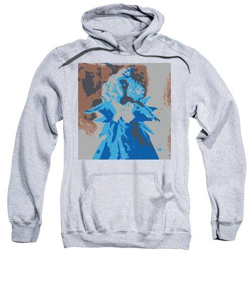 Blue Sunflower Barbie Sweatshirt