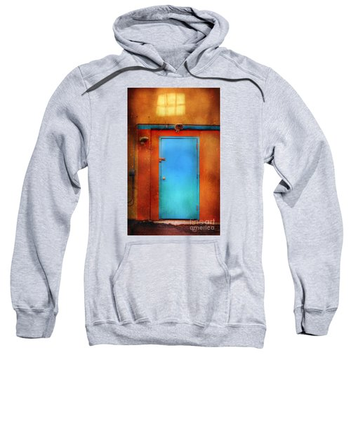 Blue Taos Door Sweatshirt