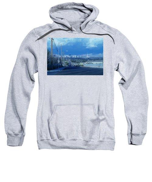 Blue Vegas Sweatshirt