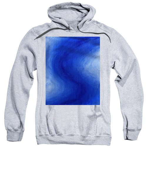 Blue Vibration Sweatshirt
