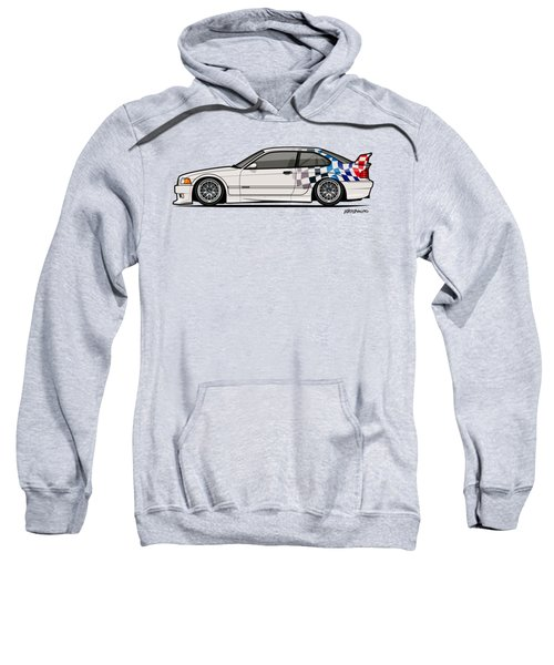 Bmw 3 Series E36 M3 Gtr Coupe Touring Car Sweatshirt