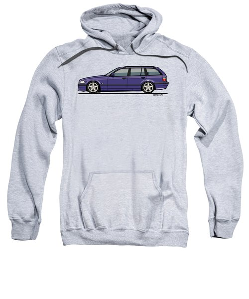 Bmw E36 328i 3-series Touring Wagon Techno Violet Sweatshirt