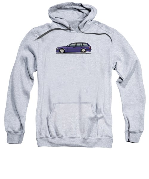 Bmw E36 328i 3-series Touring Wagon Techno Violet Sweatshirt