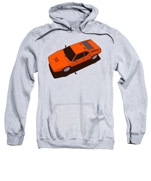 Bmw M1 E26 Red Orange Sweatshirt