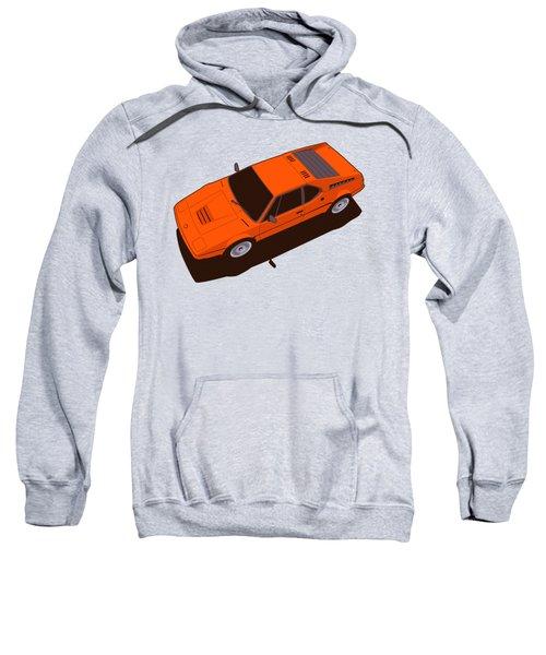 Bmw M1 E26 Red Orange Sweatshirt
