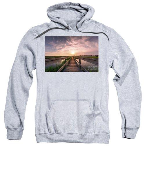 Boardwalk On The Marsh Sweatshirt