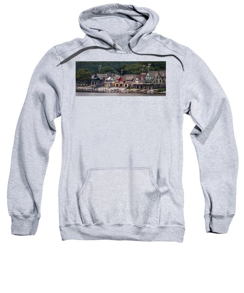 Boathouse Row Philadelphia Pa  Sweatshirt