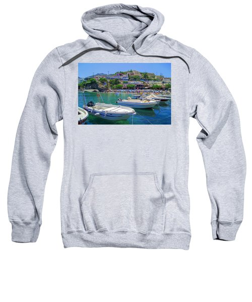 Boats In Bali Sweatshirt