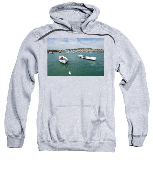 Boats In Habour Sweatshirt