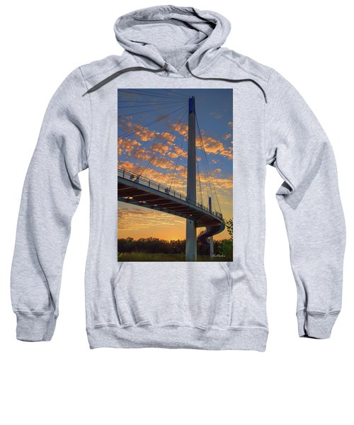 Bob Kerry Bridge At Sunrise Sweatshirt