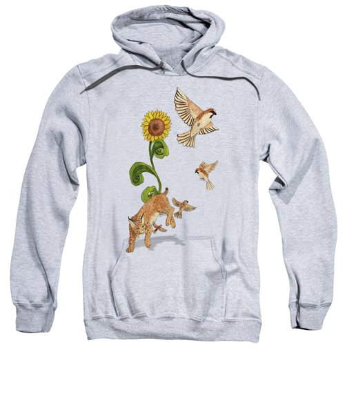 Bobcats And Beeswax Sweatshirt by Teighlor Chaney