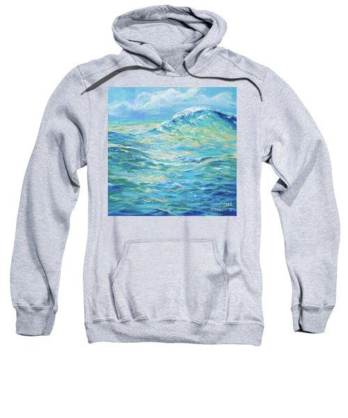 Bodysurfing Rolling Wave Sweatshirt