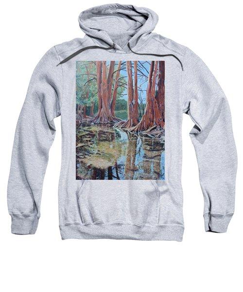 Boerne River Scene Sweatshirt