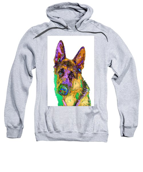 Bogart The Shepherd. Pet Series Sweatshirt