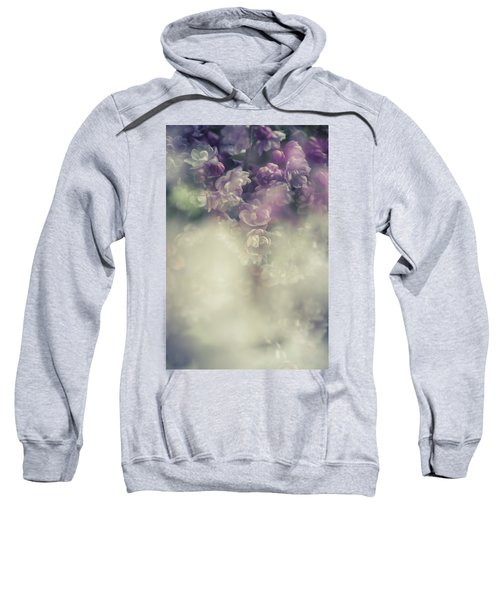 Boho Chic Lilac Bouquet Sweatshirt