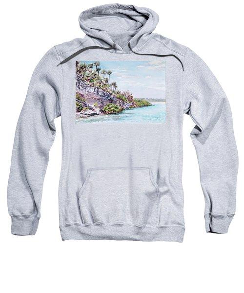 Bonefish Creek Watercolour Study Sweatshirt