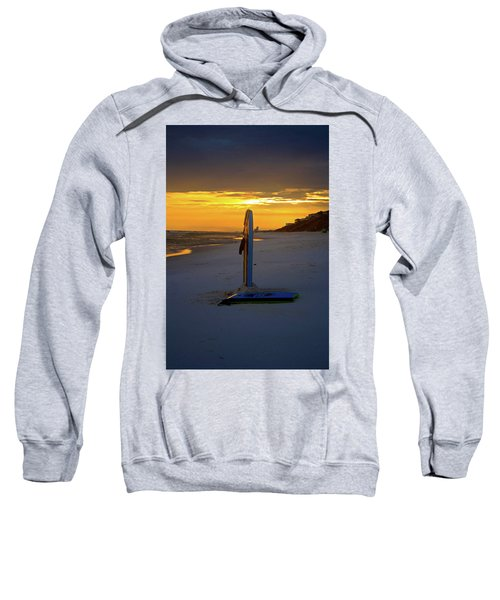 Boogie Boards At Sunset Sweatshirt