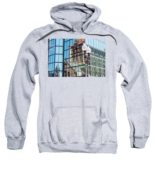 Boston At Different Angle Sweatshirt