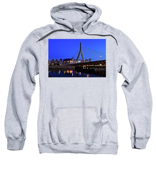 Boston Garden And Zakim Bridge Sweatshirt
