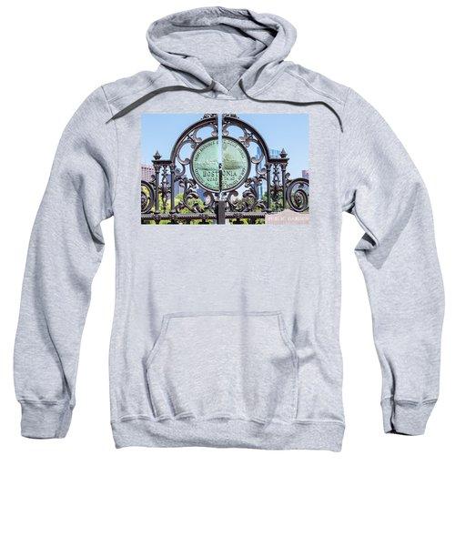 Boston Garden Gate Detail Sweatshirt