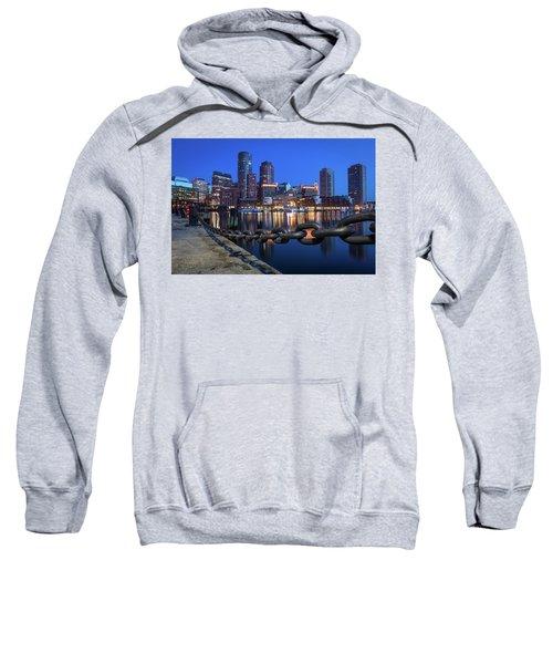 Boston Harbor Blue Sweatshirt